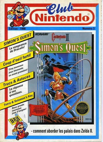 [REVUE DE PRESSE] Castlevania II : Simon's Quest sur NES